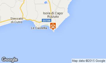 Mapa Isola di Capo Rizzuto Apartamentos 63782