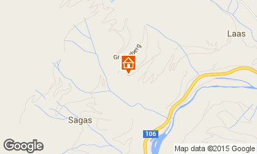 Mapa Flattach Chal� 63836