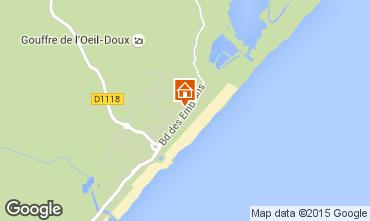Mapa Saint Pierre la Mer Apartamentos 76471
