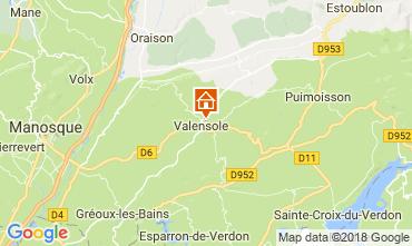 Mapa Valensole Vivenda 65599