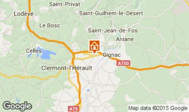 Mapa Montpellier Casa de turismo rural/Casa de campo 35163