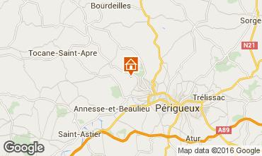 Mapa Périgueux Casa de turismo rural/Casa de campo 54756