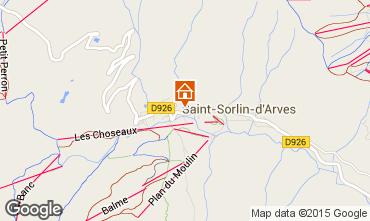 Mapa Saint Sorlin d'Arves Estúdio 2689