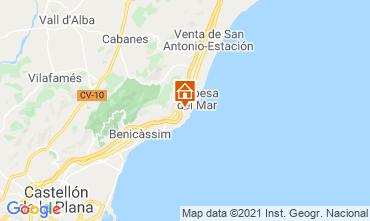 Mapa Oropesa del Mar Apartamentos 11420