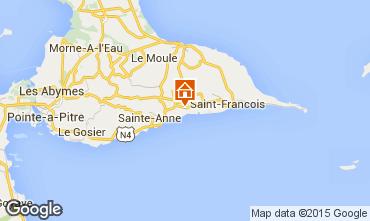 Mapa Sainte Anne (Guadalupe) Casa de turismo rural/Casa de campo 71476