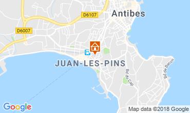 Mapa Juan les Pins Apartamentos 80674