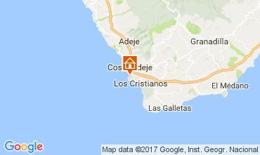 Mapa Playa de las Américas Apartamentos 108562