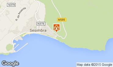 Mapa Sesimbra Apartamentos 57423