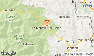 Mapa Serre Chevalier Chalé 2989