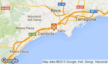 Mapa Cambrils Casa 74099