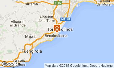 Mapa Torremolinos Apartamentos 91693