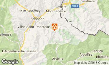 Mapa Briançon Chalé 41024