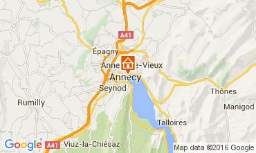 Mapa Annecy Apartamentos 106034