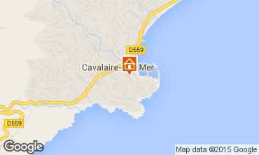 Mapa Cavalaire-sur-Mer Apartamentos 82294