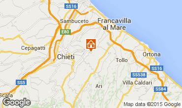 Mapa Francavilla al Mare Apartamentos 84256