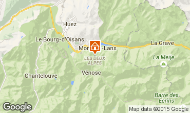 Mapa Les 2 Alpes Apartamentos 87167