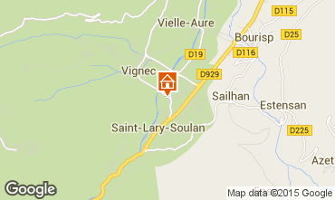 Mapa Saint Lary Soulan Estúdio 80914