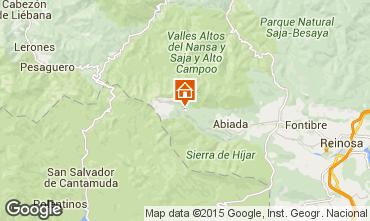 Mapa Alto Campoo Chal� 92378