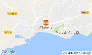 Mapa Albufeira Vivenda 83993