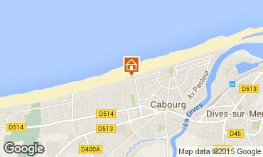 Mapa Cabourg Apartamentos 10748