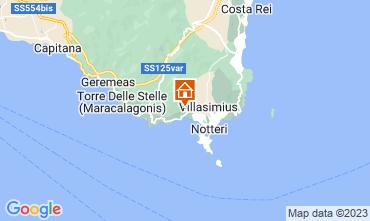 Mapa Villasimius Vivenda 116186