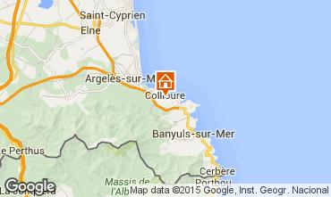 Mapa Collioure Apartamentos 94842