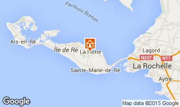 Mapa La Flotte en Ré Vivenda 75537