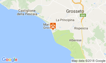 Mapa Principina a Mare Casa 114111