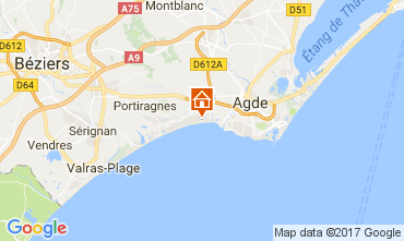 Mapa Vias Praia Mobil Home 112301