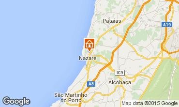 Mapa Nazaré Apartamentos 91719