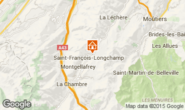 Mapa Saint Fran�ois Longchamp Apartamentos 74101