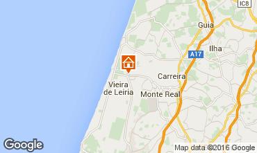 Mapa Praia da Vieira Vivenda 64471