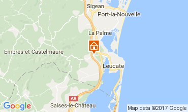 Mapa La Franqui Apartamentos 58492