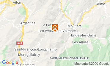 Mapa Valmorel Apartamentos 111703