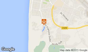 Mapa Le Touquet Apartamentos 69679