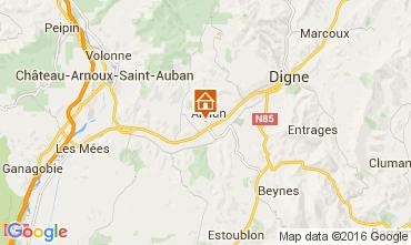 Mapa Digne Vivenda 102311