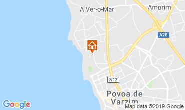 Mapa Póvoa de Varzim Apartamentos 118973