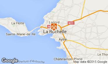 Mapa La Rochelle Apartamentos 80784