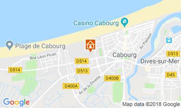 Mapa Cabourg Apartamentos 117330