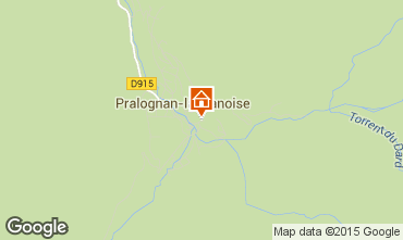 Mapa Pralognan la Vanoise Apartamentos 2287