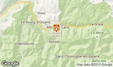 Mapa Les 2 Alpes Apartamentos 85753
