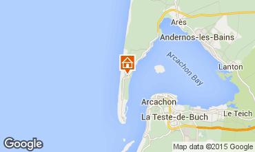 Mapa Cap Ferret Vivenda 80533