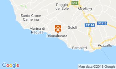 Mapa Donnalucata Apartamentos 88164