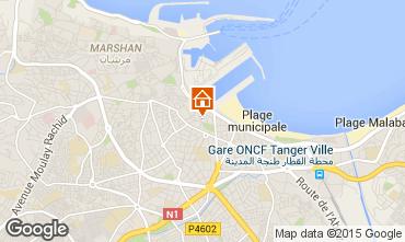 Mapa Tanger Apartamentos 40332