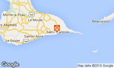 Mapa Saint Francois Apartamentos 102701
