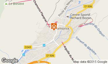 Mapa Chamonix Mont-Blanc Apartamentos 669