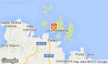 Mapa La Maddalena Apartamentos 33485