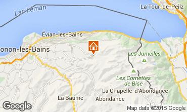 Mapa Bernex Apartamentos 65983