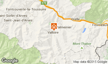 Mapa Valloire Chalé 27264
