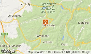 Mapa La Bresse Apartamentos 92245